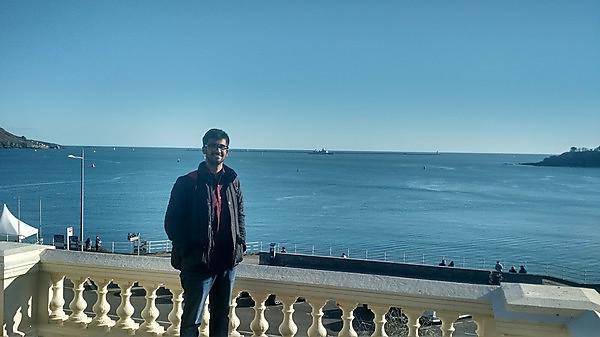 <p>Dusyanth Papdeshi,&nbsp;<b></b>VIT University Semester Abroad student<b></b><br></p>