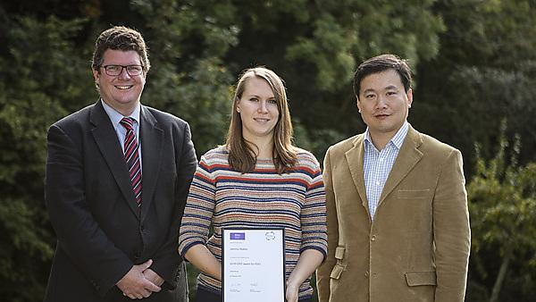 Science Council award for dental PhD student and research assistant