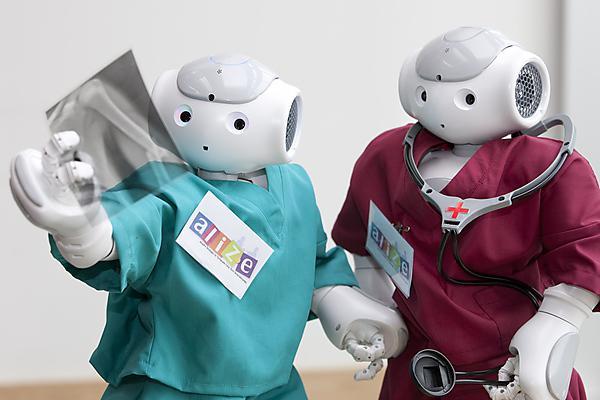 <p>Robots as companions&nbsp;</p>