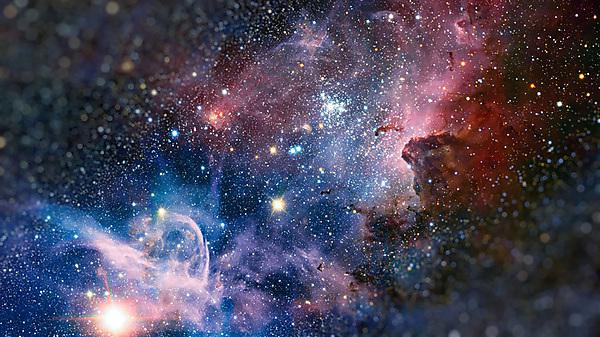 <p>Colour-Composite Image Of The Carina Nebula<br></p>