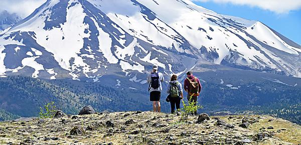 <p>Looking to get to the top? University of Plymouth students doing exactly that at Mount St Helens, part of our American field course.</p>