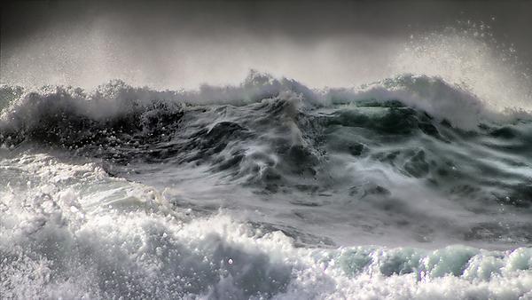 Impact of marine energy converters