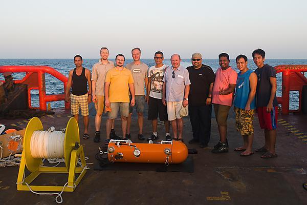 UAE Ocean fieldwork