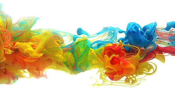<p>Shutterstock: arts research image. Splashes of bright colours.</p>