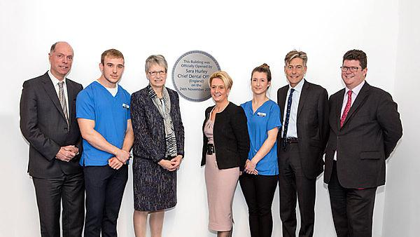 Chief Dental Officer opens new University of Plymouth Dental Education Facility in Exeter