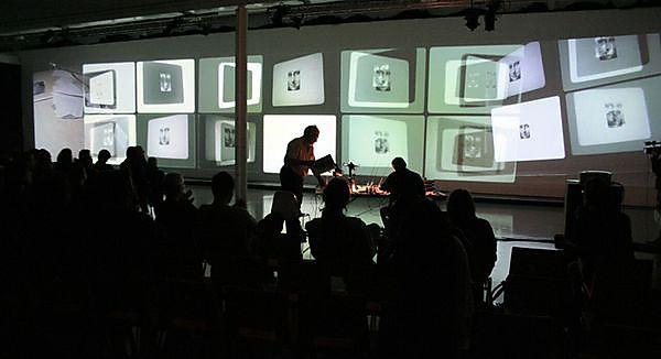 <p>After Leonardo Multi-Screen Performance Improvisation Malcolm Le Grice and Keith Rowe</p>