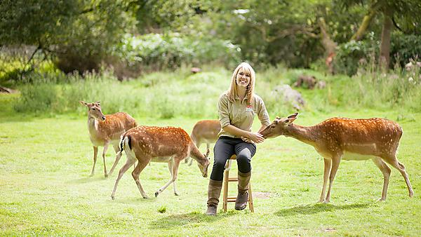 <p>Coral Jonas, MSc Zoo Conservation Biology graduate has gone on to work for Dartmoor Zoo as Head of Discovery and Learning.</p>