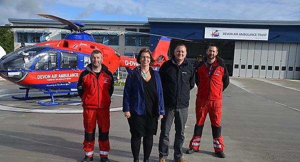 Award recognises air ambulance paramedic course