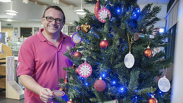Brain Tumour Research Christmas tree campaign offers hope