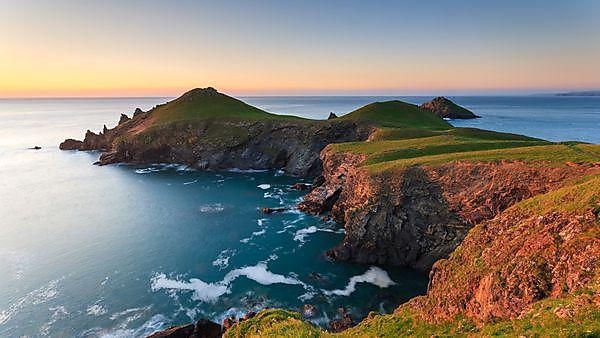 Rumps Point, in North Cornwall