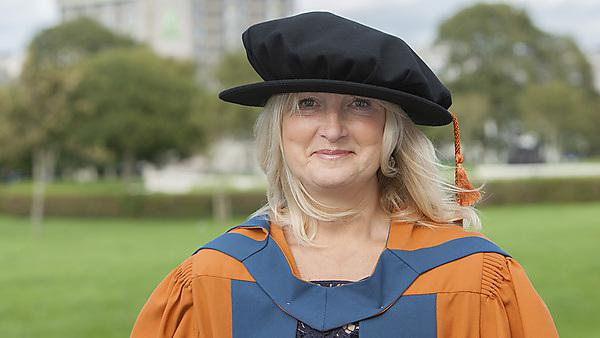 Helen Goodall - Professional Doctorate in Education graduate