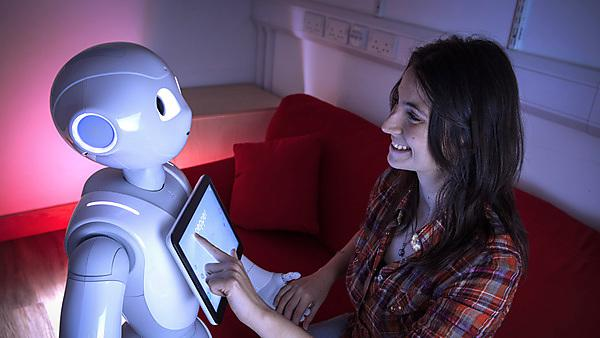 <p>Pepper robot<br></p>
