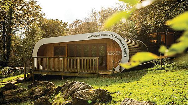 <p>  The pod is in the heart of the zoo, like a living laboratory. It can alsohost lectures.<br></p>