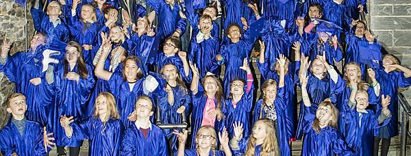 <p>Devon Children's University graduations 2016</p>