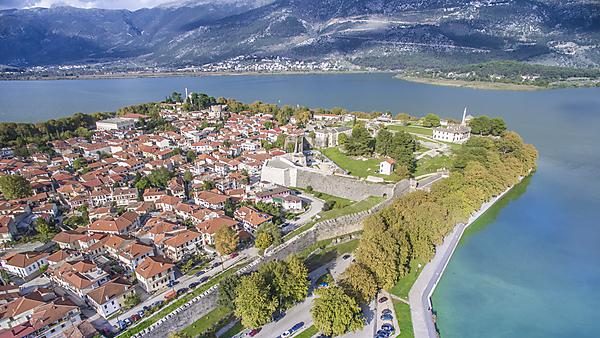 <p>Ioannina aerial photo, Greece</p>