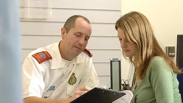 <p>Community health paramedic</p>