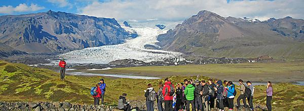 <p>Geography field trip to Iceland</p>