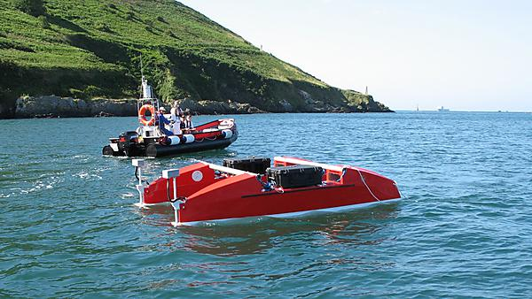 <p>Springer's first open water trials,&nbsp;Autonomous Marine Systems<br></p>