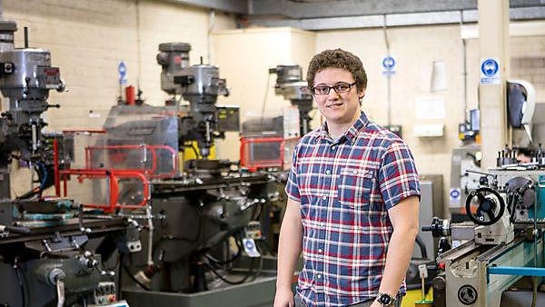 <p>Benjamin Bush is one of the first recipients on the new scholarship, the Tamar Engineering Project<br></p>