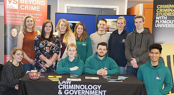<p>Student Victim Support Service (Criminology students)</p>