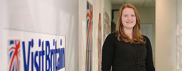 <p>Lucy Harper, BSc (Hons) Tourism Management graduate</p>