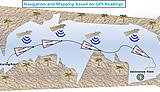 Navigation and mapping based on GPS readings