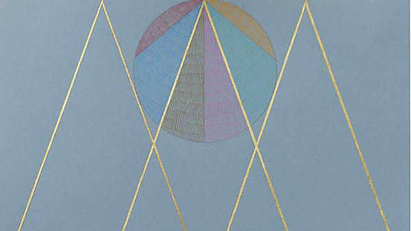 <p>Peninsula Arts: Claudia Wieser – Untitled, 2015. Colour pencil, gold leaf on colour paper, 46 x 33 cm. Photo by Jens Ziehe. Courtesy: Claudia Wieser and Arratia Beer, Berlin (Part).<br></p>
