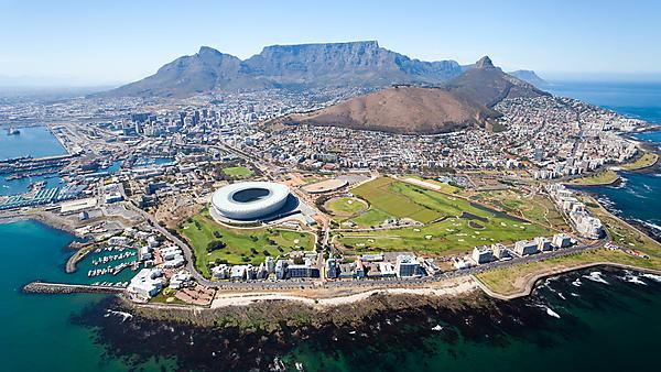 <p>Overall aerial view of Cape Town, South Africa - courtesy of Getty Images<br></p>