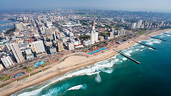 <p>Aerial view of Durban, South Africa - courtesy of Getty Images<br></p>