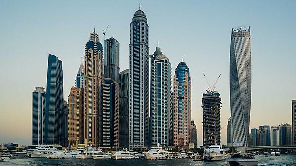 <p>Dubai skyscrapers<br></p>
