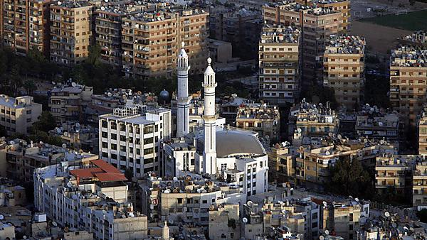 <p>Damascus city centre</p>