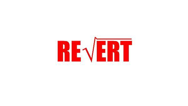 <p>REVERT logo for hero</p>
