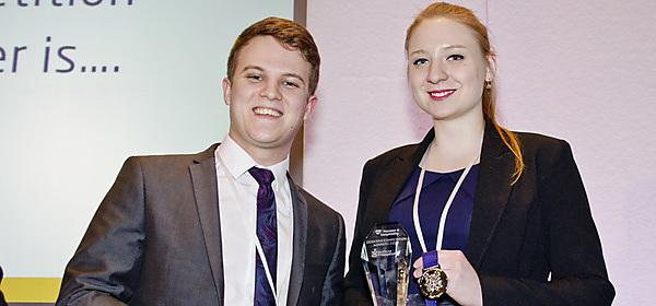 Hospitality students earn national conference prizes