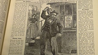 Professor Kim Stevenson and Dr Judith Rowbotham gave a public talk exploring the problems associated with policing Devonport from 1870 to 1914. Image: Newspaper images, © British Library Board (from Aggy Weston, Ashore and Afloat 1887).