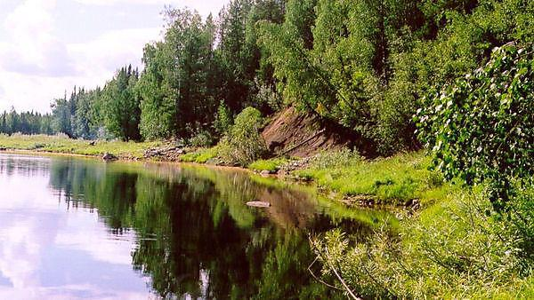 The Yatria River, Siberia
