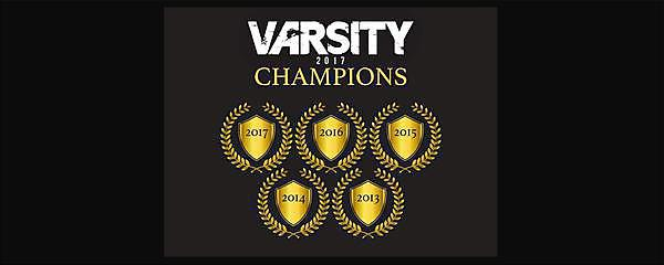 UPSU takes Varsity crown for 5th consecutive year