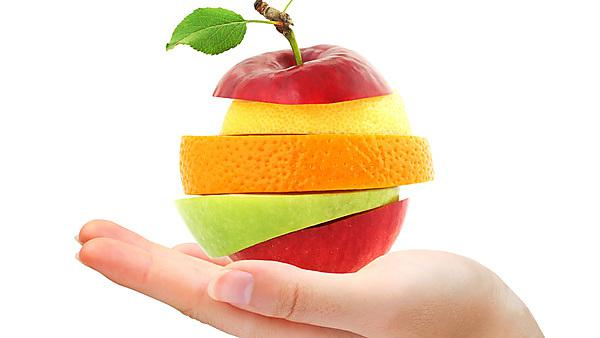 <p>Hand holding mixed fruit&nbsp;by LeventeGyori, courtesy of Shutterstock<br></p>