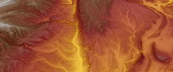Scientists use satellite data to build detailed geological picture of remote landscapes