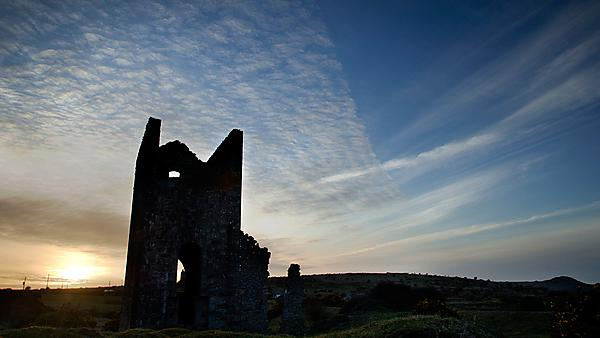 Ruined Cornish tin mine