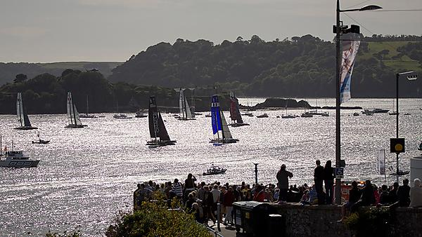 The America's Cup in Plymouth Sound