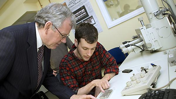 Visit of IMechE President Professor William Banks