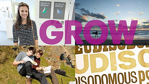 GROW with BA (Hons) Graphic COmmunciation with Typography