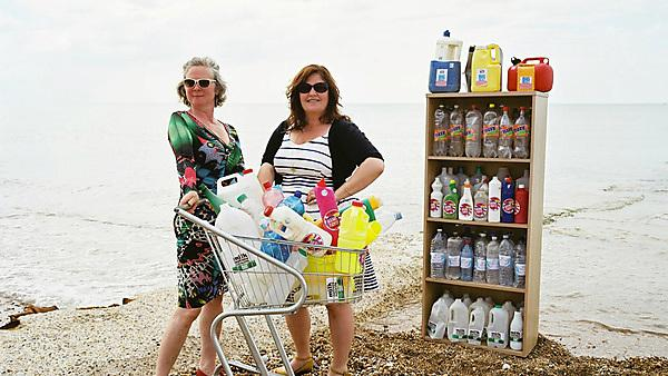 Supermarket of marine rubbish in new exhibition