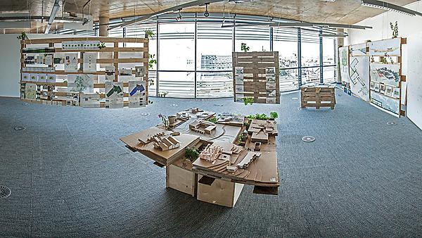 Architecture studio space in Roland Levinsky Building