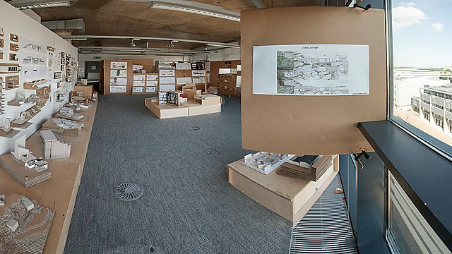 Architecture studio space in Roland Levinsky Building