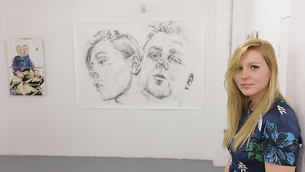 Interview and portfolio advice with BA (Hons) Fine Art