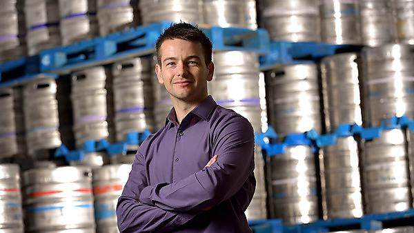 Plymouth graduate helps drinks distributor grow