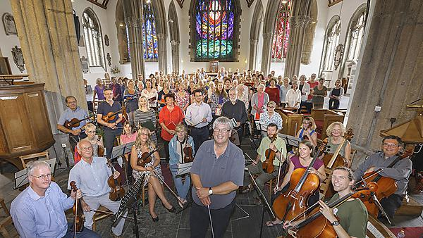 Mozart concert fundraising success for brain research