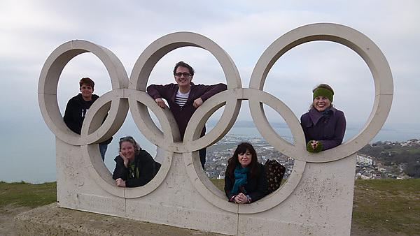 Field visit to Weymouth Olympics 2014