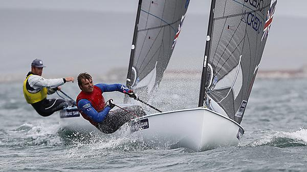 Peter McCoy in action at the 2013 Sail for Gold Regatta
